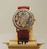 Photo de montre lip squelette