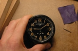 Photo de montre de tableau de bord d'avion
