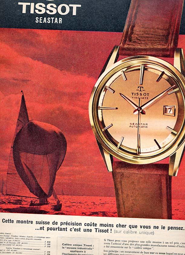 Publicité pour les montres Tissot