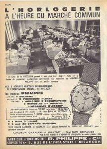 Publicité pour les montres Philippe