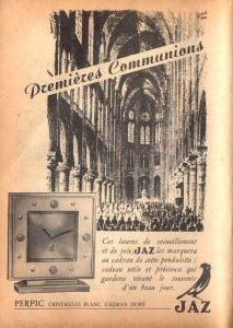 Publicité pour les montres Jaz