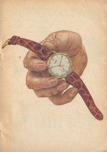 Publicité pour les montres Lip