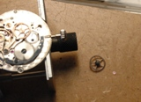 Photo de montre Rolex Air King gilt
